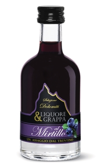 LIQUORE MIRTILLO 15%  0,05 LITRI